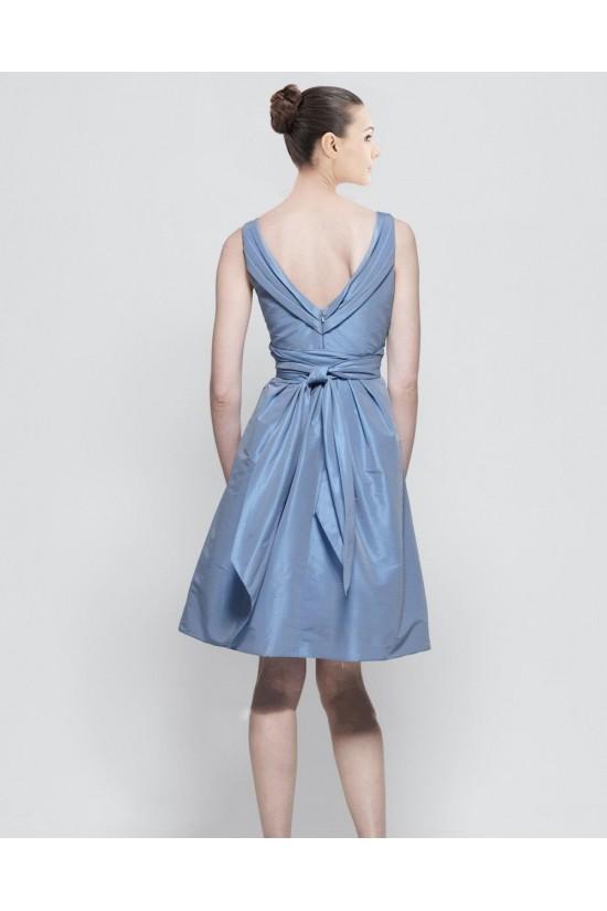 A-Line V-Neck Short Bridesmaid Dresses/Wedding Party Dresses BD010430