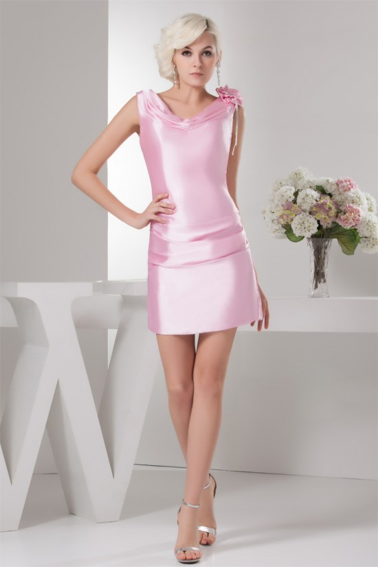 Short/Mini Beading Sleeveless Sheath/Column Prom/Formal Evening Dresses 02021376