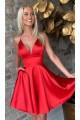 Short/Mini V-Neck Prom Dress Homecoming Dresses 601490