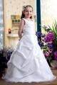 A-Line Floor-Length Beaded Applique Flower Girl Dresses 2050007